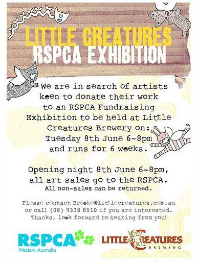 Little Creatures RSPCA Exhibition