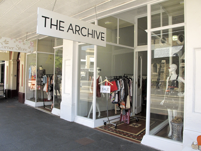 The Archive, Market Street, Fremantle, Boutique Fashion Brands, Recycled Used Clothing